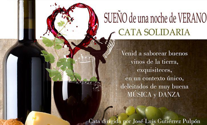 Disfrutad colaborando! CATA SOLIDARIA en Alcázar de San Juan