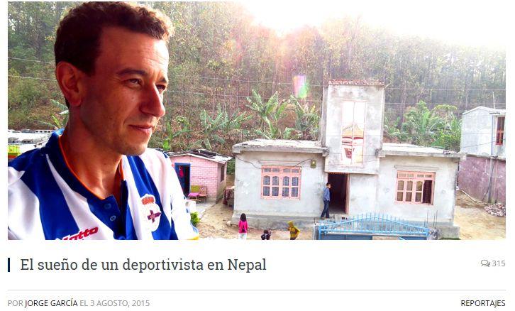 El sueño de un deportivista en Nepal