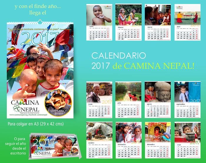 publicidad calendario 2017