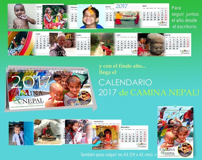 publicidad calendario escritorio