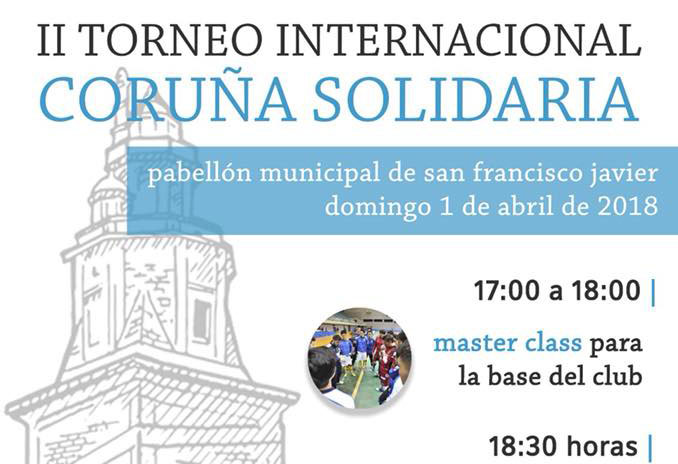 II Torneo Internacional CORUÑA SOLIDARIA